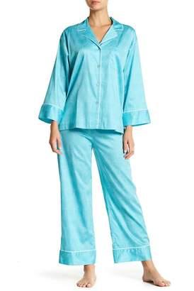 Natori Geo Print 2-Piece Pajama Set