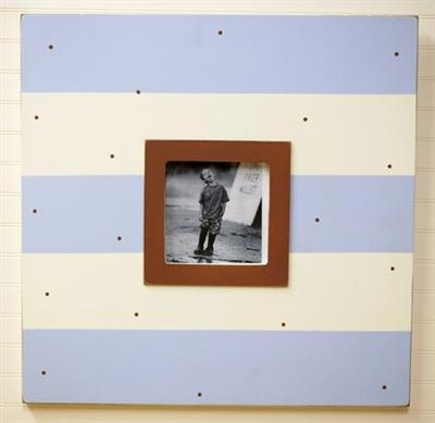Large Wall Frame Blue