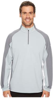 Puma PWRWarm Color Block 1/4 Zip Men's Long Sleeve Pullover