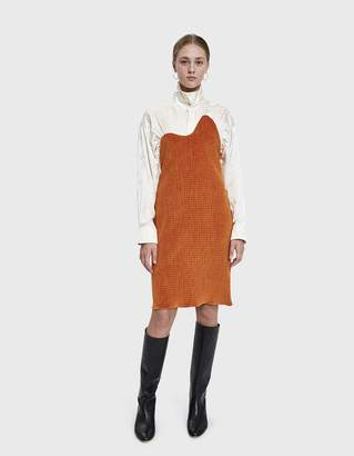 Aalto Standing Collar Shirt Dress