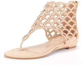 b2b657c6ee0 DREAM PAIRS Women s Jewel 02 Pewter Fashion Rhinestones Design Ankle Strap  Flat Sandals