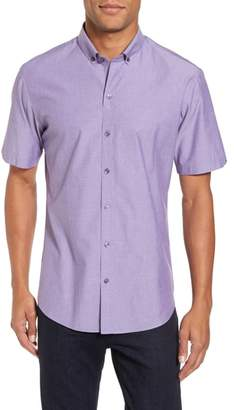 Zachary Prell Olson Slim Fit Dobby Sport Shirt