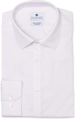 Ryan Seacrest Distinction Men's Ultimate Slim-Fit Non-Iron Performance Stretch White Dress Shirt, Created for Macy's
