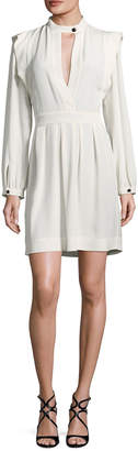 Isabel Marant Ruffled Woven Dress