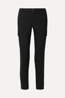 ATM Anthony Thomas Melillo Cotton-blend Slim-leg Pants - Black