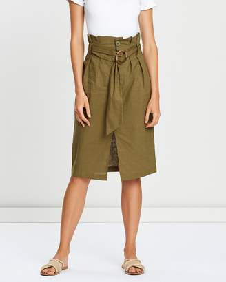Atmos & Here Nicki Belted Skirt