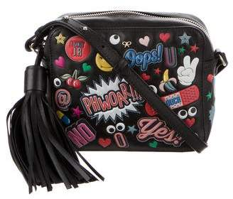 Anya Hindmarch All Over Wink Stickers Crossbody Bag