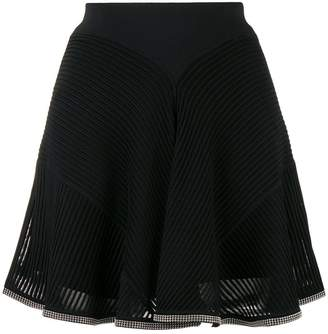 Alexander Wang ribbed high-waist skirt