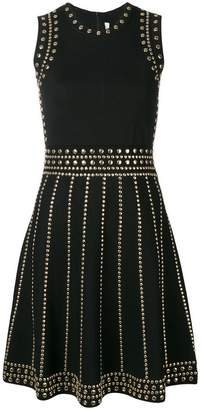 MICHAEL Michael Kors studded stretch-knit dress
