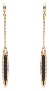 Monique Péan 18kt gold, diamond & jade earrings