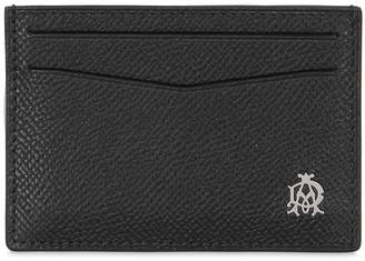 Dunhill Embossed Leather Card Holder