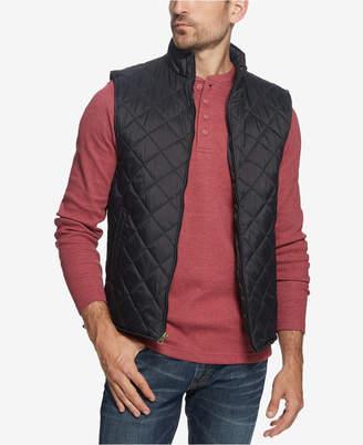 Weatherproof Vintage Men's Quilted Full-Zip Vest
