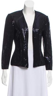 Couture St. John Structured Evening Sequin Jacket