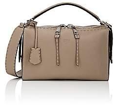 Fendi Women's Lei Selleria Leather Bag - Grey