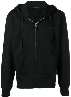 Acne Studios Ferris Zip Face hooded sweatshirt