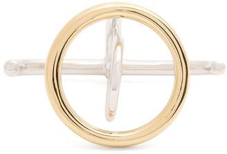 Charlotte Chesnais Saturn silver and gold-plated ring