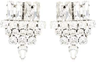 Saint Laurent Embellished clip-on earrings