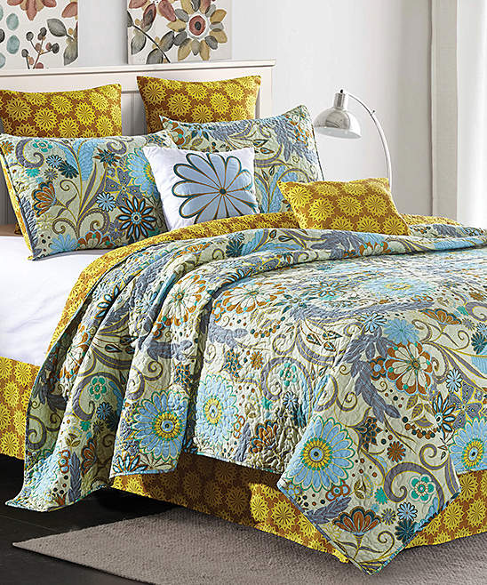 Carine Five-Piece Quilt Set