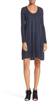Women's M Missoni Textured Wool Blend Dress $595 thestylecure.com