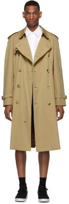 Burberry Beige Westminster Heritage Trench Coat
