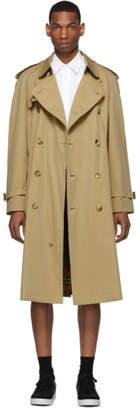Burberry Beige Westminster Heritage Trench Coat