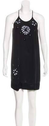 Single Dress Silk Embellished Dress