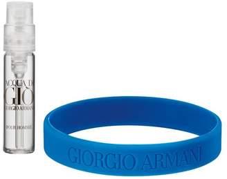 Giorgio Armani Acqua di Gio Acqua For Life Bracelet