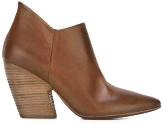 Marsèll pointed toe distressed boots