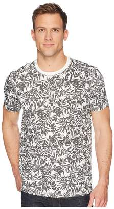 Agave Denim Frisco Woods Short Sleeve Crew Neck Flora Camo Print Men's Short Sleeve Pullover