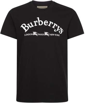 Burberry Embroidered Archive Logo T-Shirt