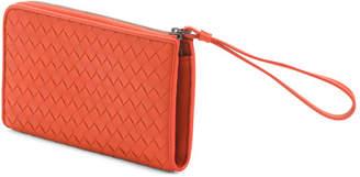 Bottega Veneta Made In Italy Leather Wallet Wristlet