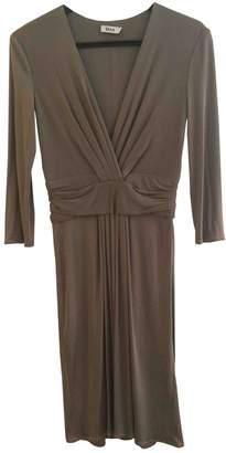 Issa Khaki Silk Dress for Women