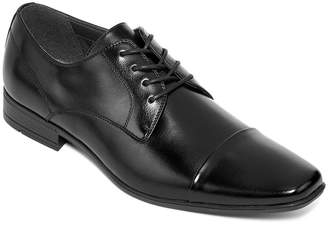 Jf J.Ferrar JF Baptiste Mens Cap-Toe Oxford Dress Shoes