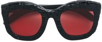 Kuboraum square tinted sunglasses