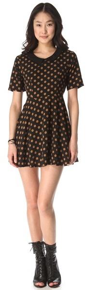 MinkPink Spot On Mini Dress