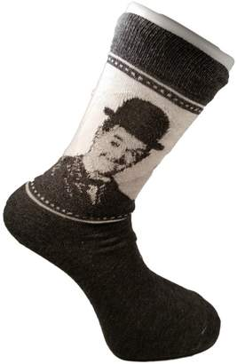 Laurèl and Hardy Comedy Vintage Unisex Novelty Ankle Socks Adult Size 6-11