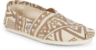 Toms Patterned Slip-On Sneakers