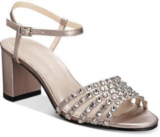 Caparros Plaza Embellished Evening Sandals Women Shoes