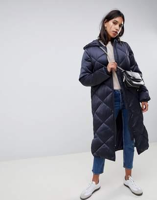Asos Design DESIGN longline puffer jacket