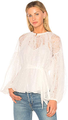 Lover Plume Lace Blouse