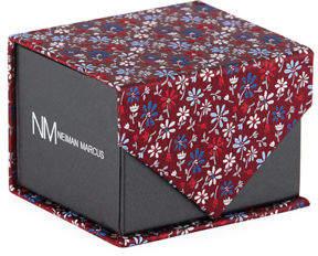 Neiman Marcus Boxed Floral Silk Tie
