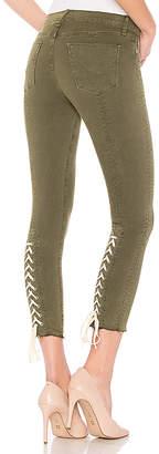 Hudson Nico Mid Crop Super Skinny Jean.