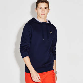Lacoste Men's Sport Hooded Fleece Tennis Sweatshirt