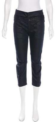 Theyskens' Theory Mid-Rise Crop Jeans w/ Tags
