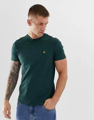 Lyle & Scott logo t-shirt in khaki