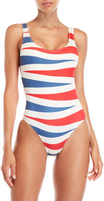 Solid & Striped Anne-Marie Printed One-Piece Swimsuit