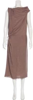 Bottega Veneta Silk Wool-Blend Dress