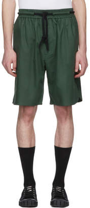 Phoebe English Green Rope Tie Shorts