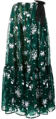 Erdem flared midi dress
