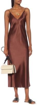 Joseph Clea silk-satin slip maxi dress